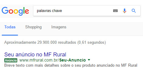 Destaque Adwords (Google)